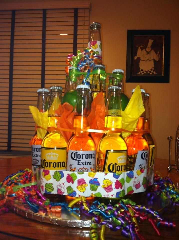Corona Birthday Cake Stuff I Like Mens Bday Gifts
