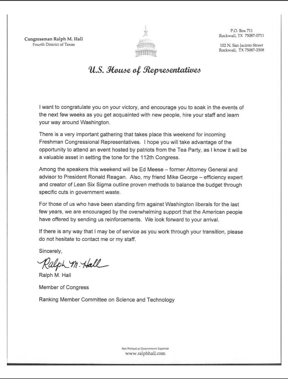 Letter To Congressman Template Samples Letter Cover Templates In