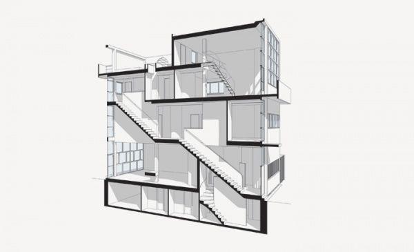 Corbusier maison guiette for Deco maison trackid sp 006