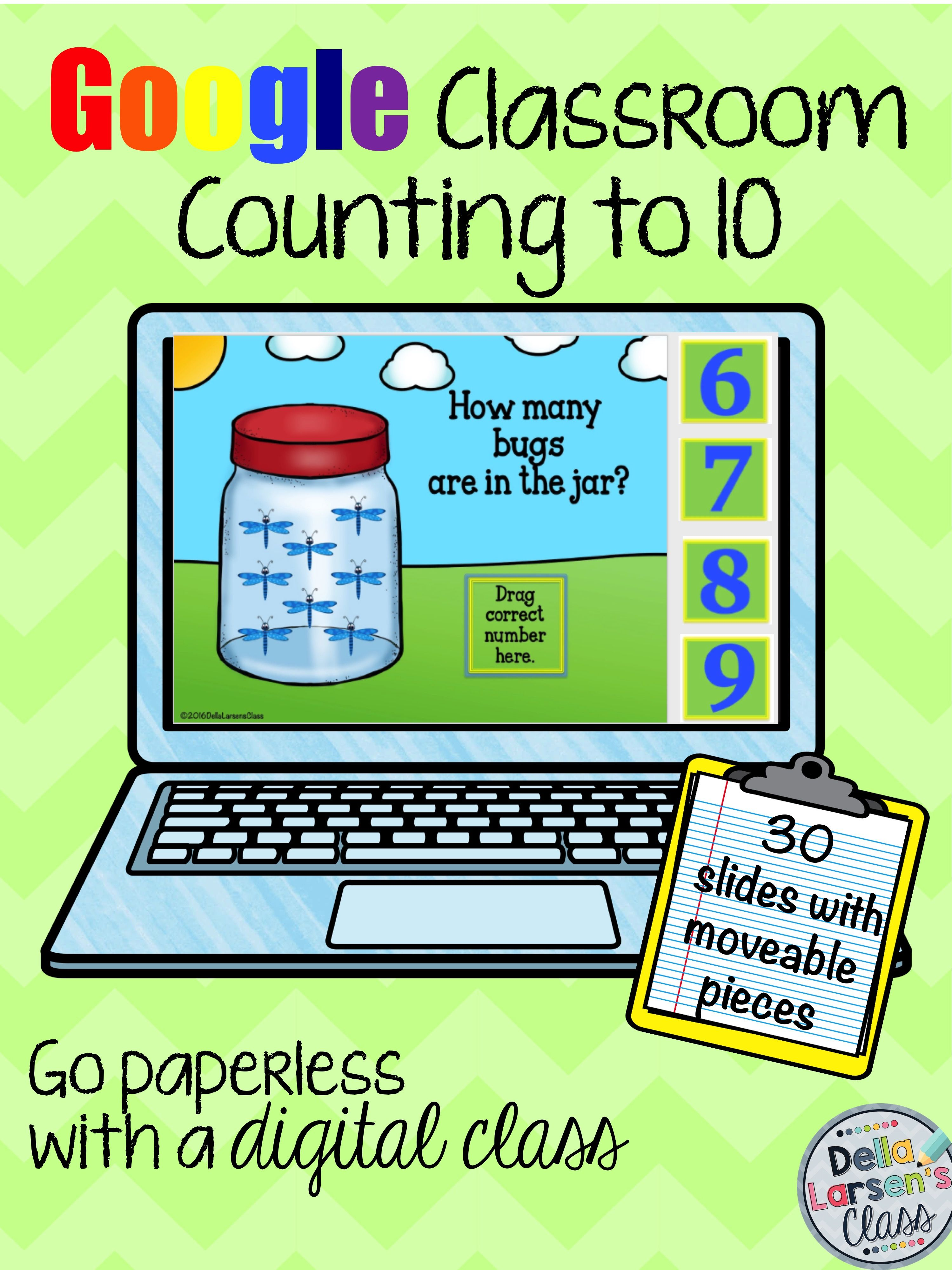 Classroom Counting To 10