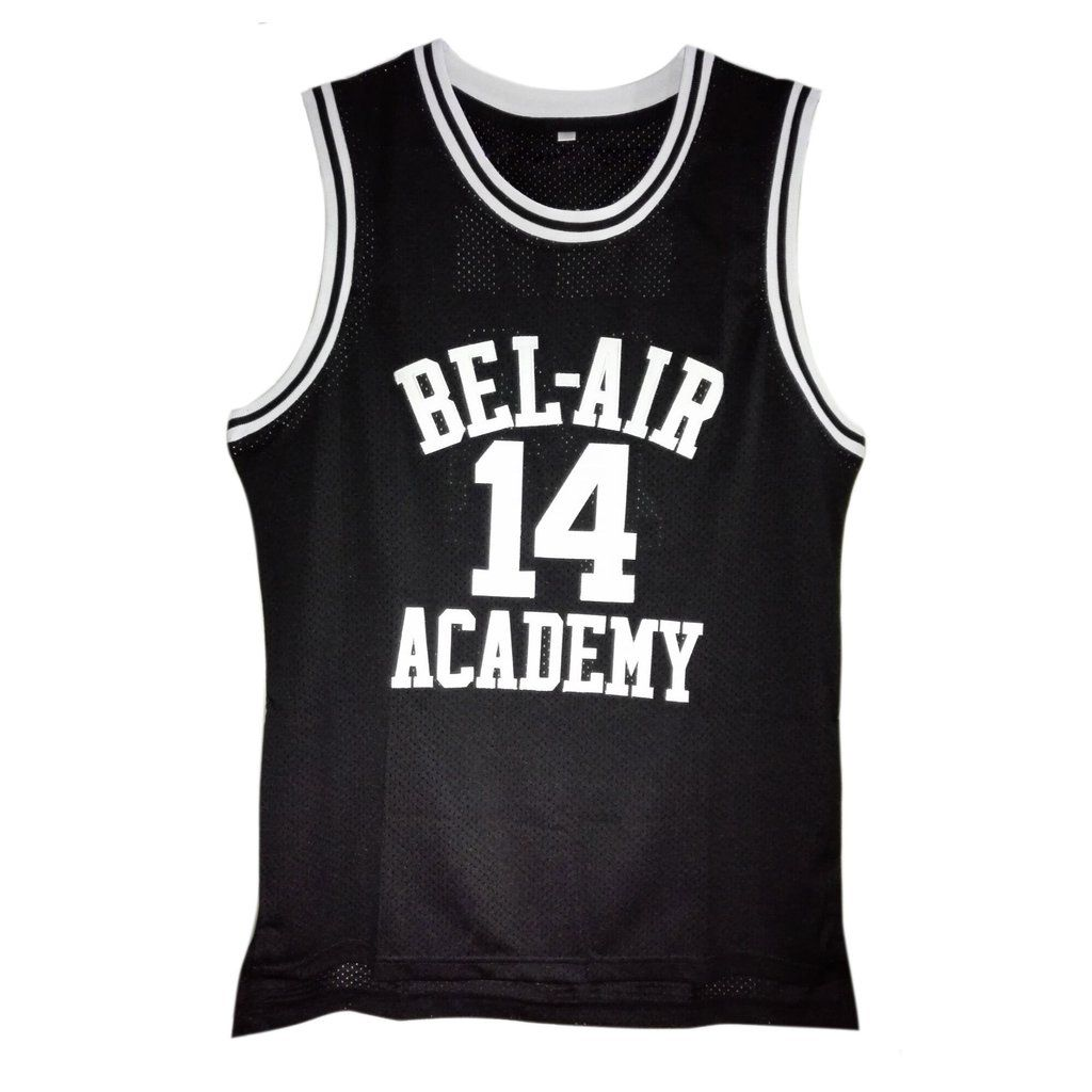 ca8fe6354336 Will Smith Bel Air Academy jersey from the TV show The Fresh Prince of Bel  Air. The number of the jersey is 14. And the name and numbers are stitched.