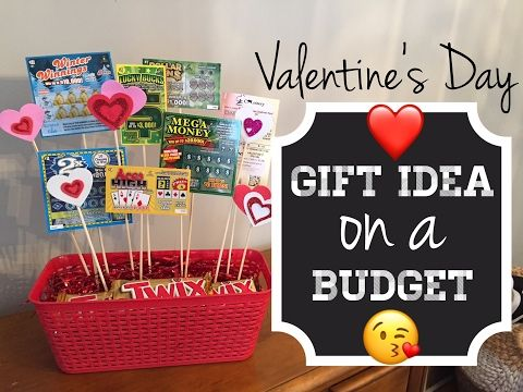 Valentine S Day Gift Idea On A Budget Using Items From Dollar Tree Youtube Dollar Tree Gifts Mens Valentines Day Gifts Diy Valentines Gifts For Him