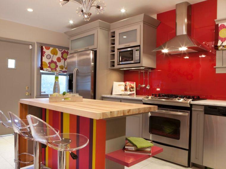 Cocinas en rojo treinta y ocho dise os ardientes for Cocinas originales diseno