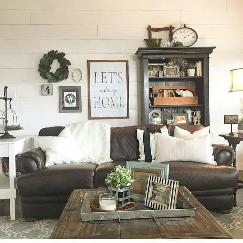 Nice Small Living Rooms: Nice 52 Cozy Modern Farmhouse Style Living Room Decor