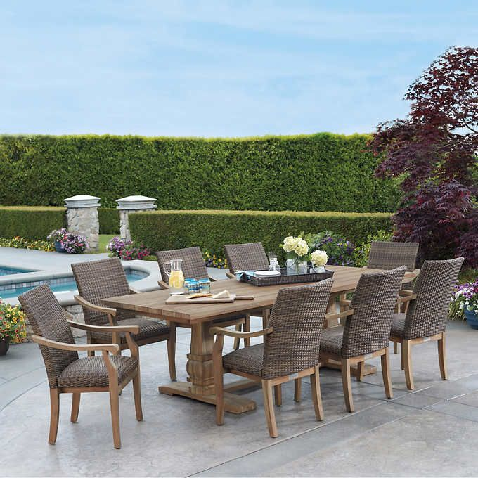 Pin By Ohsosplendid On Holualoha Home Outdoor Dining Set Outdoor Furniture Sets Teak Outdoor