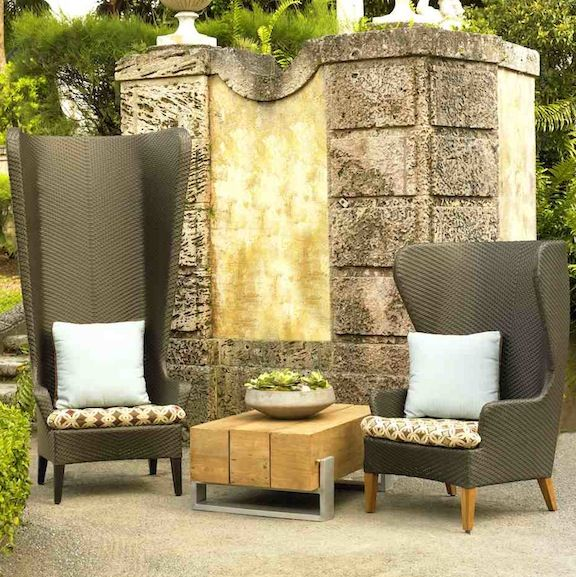 the high back wing chair and the tara wing chair neoteric luxury