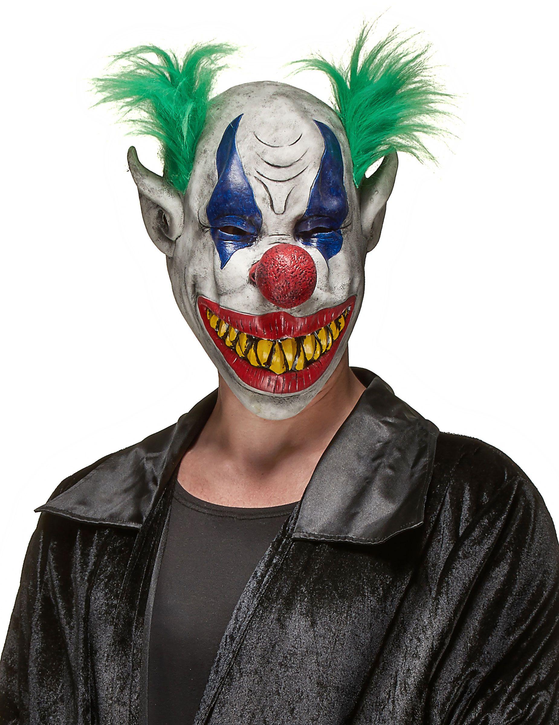 Maschera per adulti vintage con i capelli Festa Costume Maschera Viso