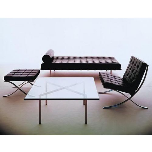 Strange Mies Van Der Rohe Style Barcelona Chair Barcelona Daybed Squirreltailoven Fun Painted Chair Ideas Images Squirreltailovenorg