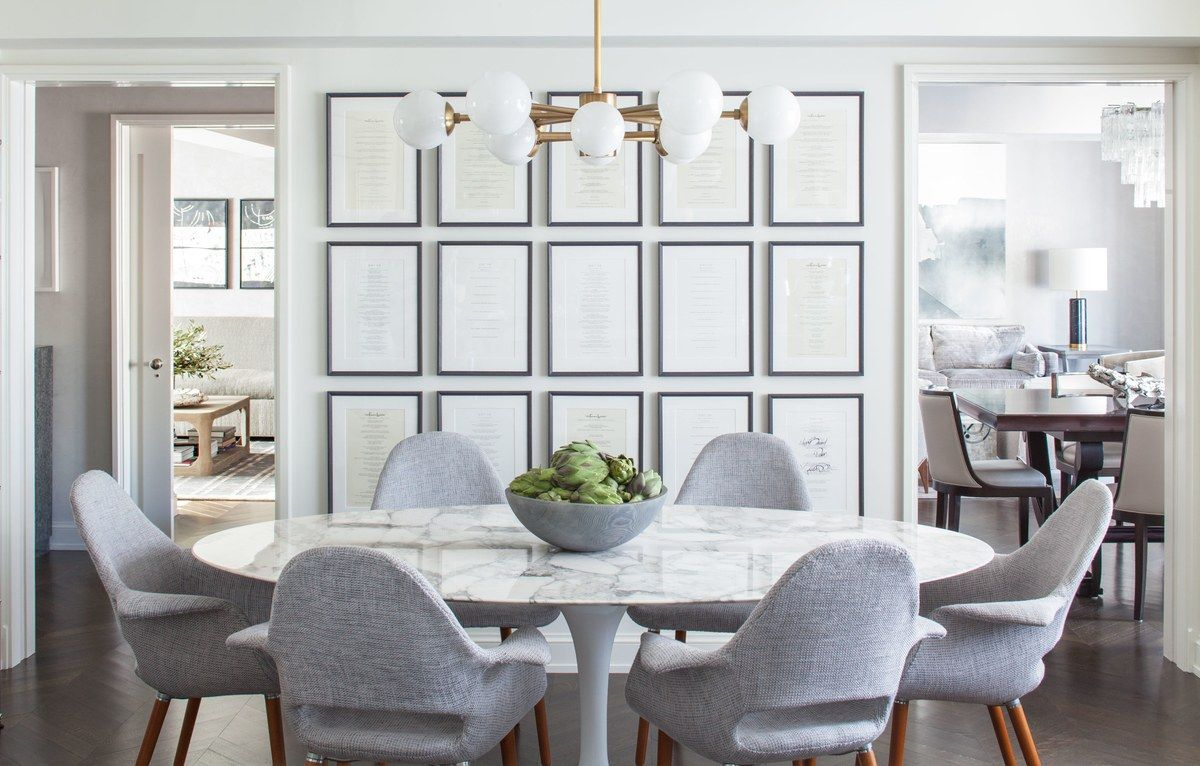 House Tour Go Inside An Artful Bachelor Pad In New York Architectural Digest Saarinen Oval Dining Table Oval Table Dining Marble Top Dining Table