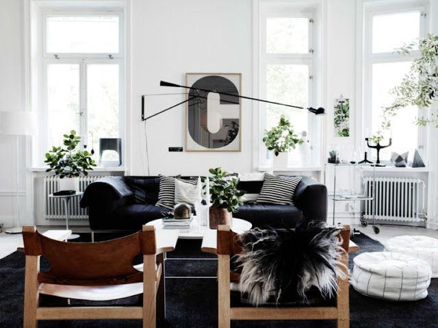 Arredamento scandinavo ~ Salas de design nórdico e estilo chique u2022 decor pinterest