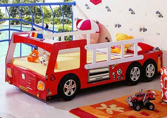 car beds for kids Hair Pinterest Cuartos decorados, Camas para