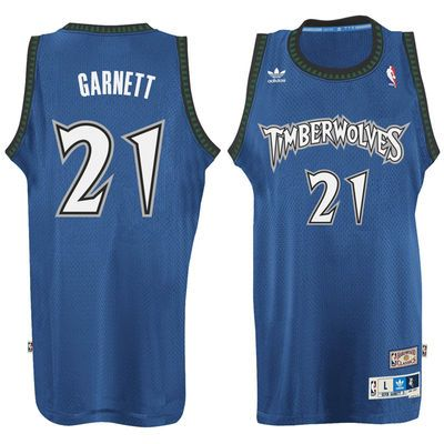 283fb3831 Kevin Garnett Minnesota Timberwolves adidas Hardwood Classic Swingman Jersey  - Blue