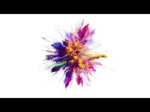 FREE] 4K Color Explosion on WHITE Background - After Effects