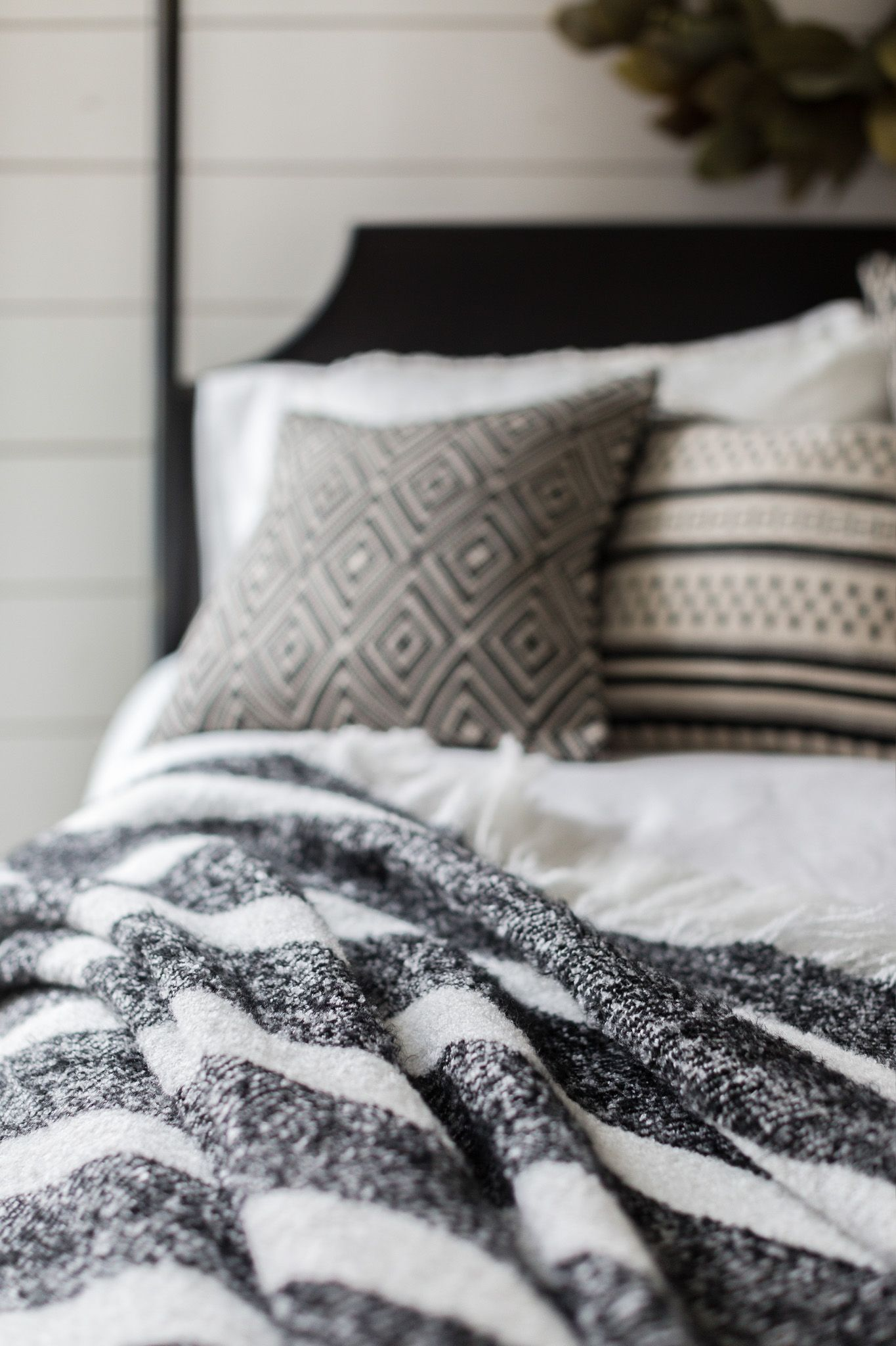 carefully crafted magnolia home by joanna gaines pillows and throw