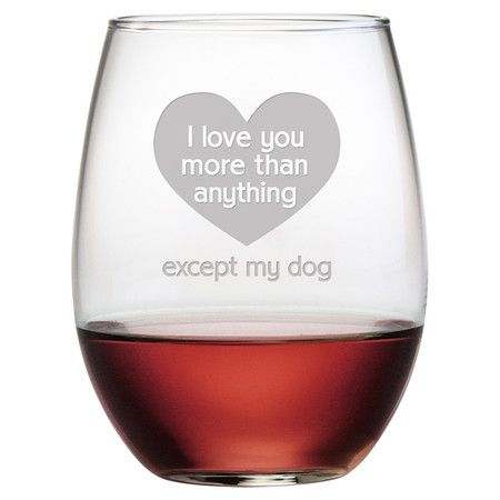 Showcasing a sand-etched typographic motif, this essential stemless wine glass is perfect for offering a favorite vintage at your next soiree or enjoying a c...