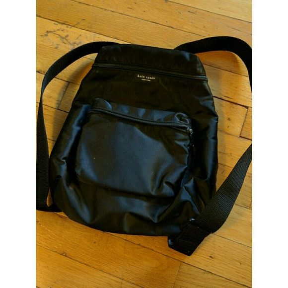 KATE SPADE- Vintage backpack Backpack style bags are perfect for travel and a must for any jet setter. Grab this KATE SPADE mini backpack for your collection. The style is an earlier KATE SPADE nylon type bag. kate spade Bags Backpacks