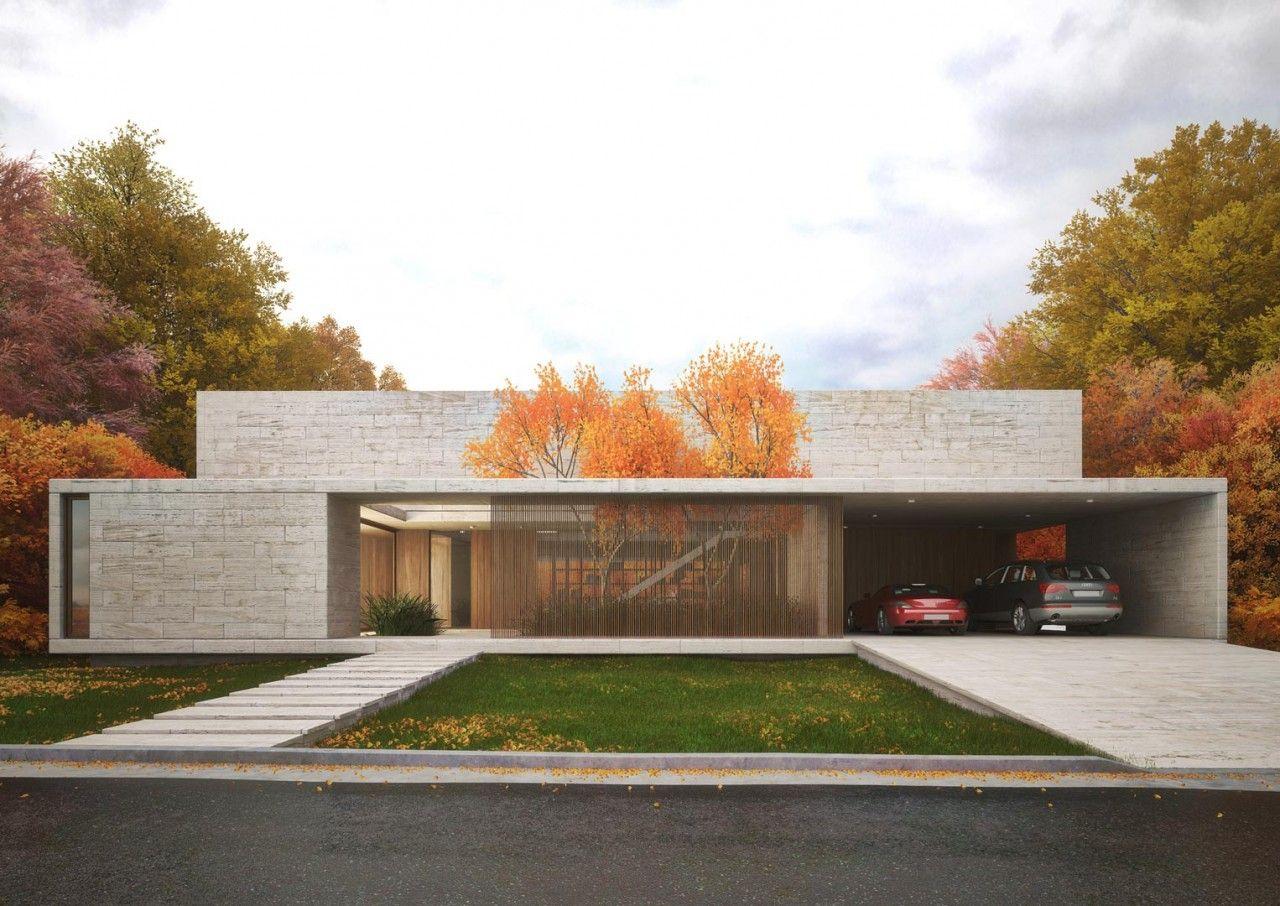 Proyectos ezequiel amado cattaneo casa terralagos for Casa minimalista uy