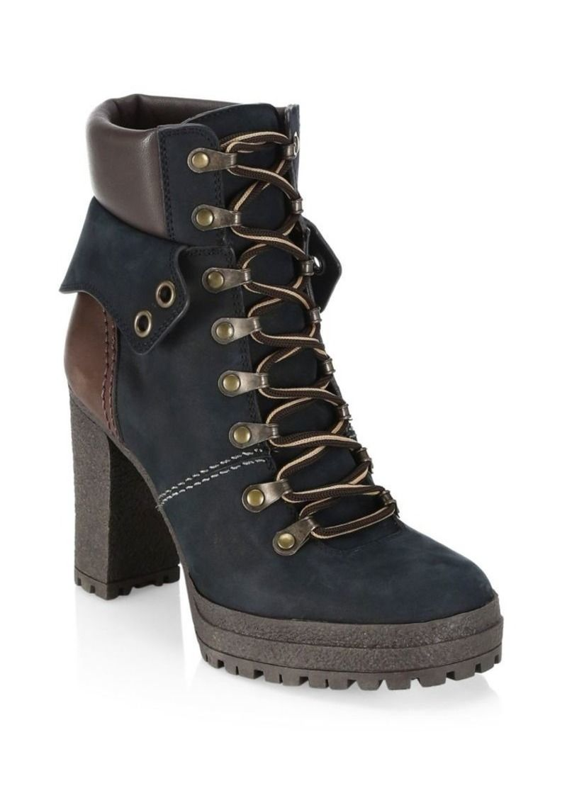 5c7b70b63c4 See by Chloé Eileen Brown Platform Hiking Boots | Shoes in 2019 ...