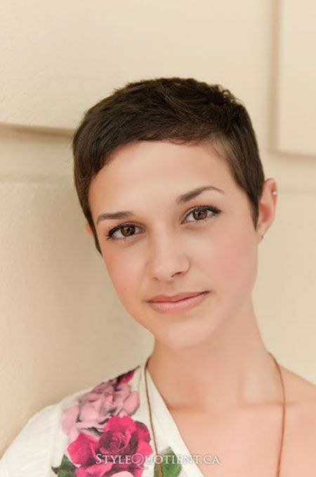 Surprising Short And Simple Boyish Hairstyle For Girls Hair Ideas Hairstyles For Women Draintrainus