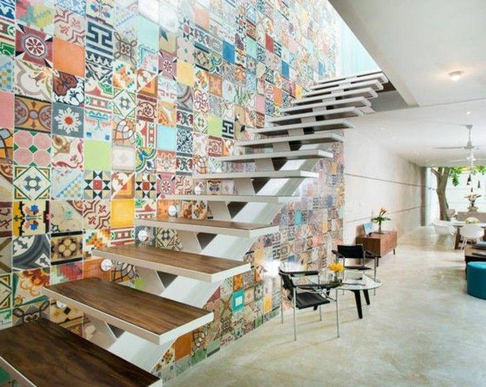 Hervorragend Rénovation escalier. La meilleure idée déco escalier en un clic  HN43