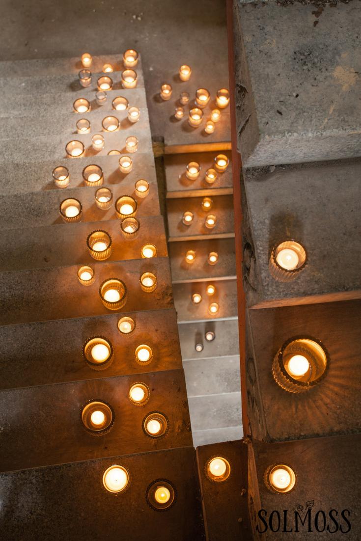 Welcome Home Candle Display Med Billeder Levende Lys Lys Inspiration