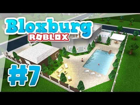57 Bloxburg 7 Swimming Pool Roblox Welcome To Bloxburg Youtube House Plans With Pictures Swimming Pools Roblox