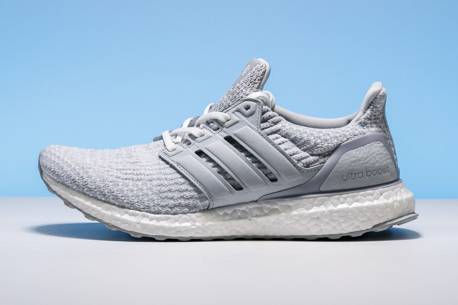 size 40 8057f 7c7ea Reigning Champ and adidas cooked up this light greyscale version of the Ultra  Boost 3.0 silhouette