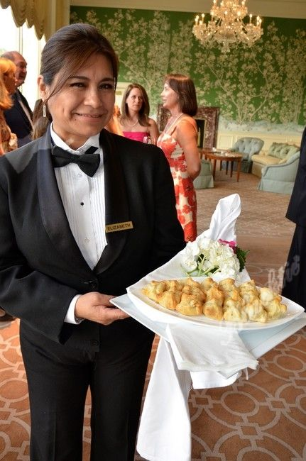Waiter Serving Hors D Oeuvres Socially Acceptable