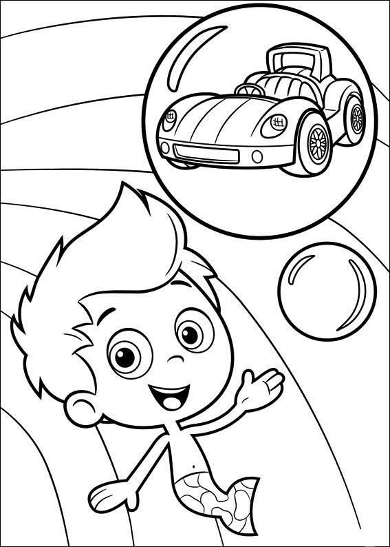 Kleurplaat - Kleurplaten Bubble Guppies 6 | bubble guppies ...