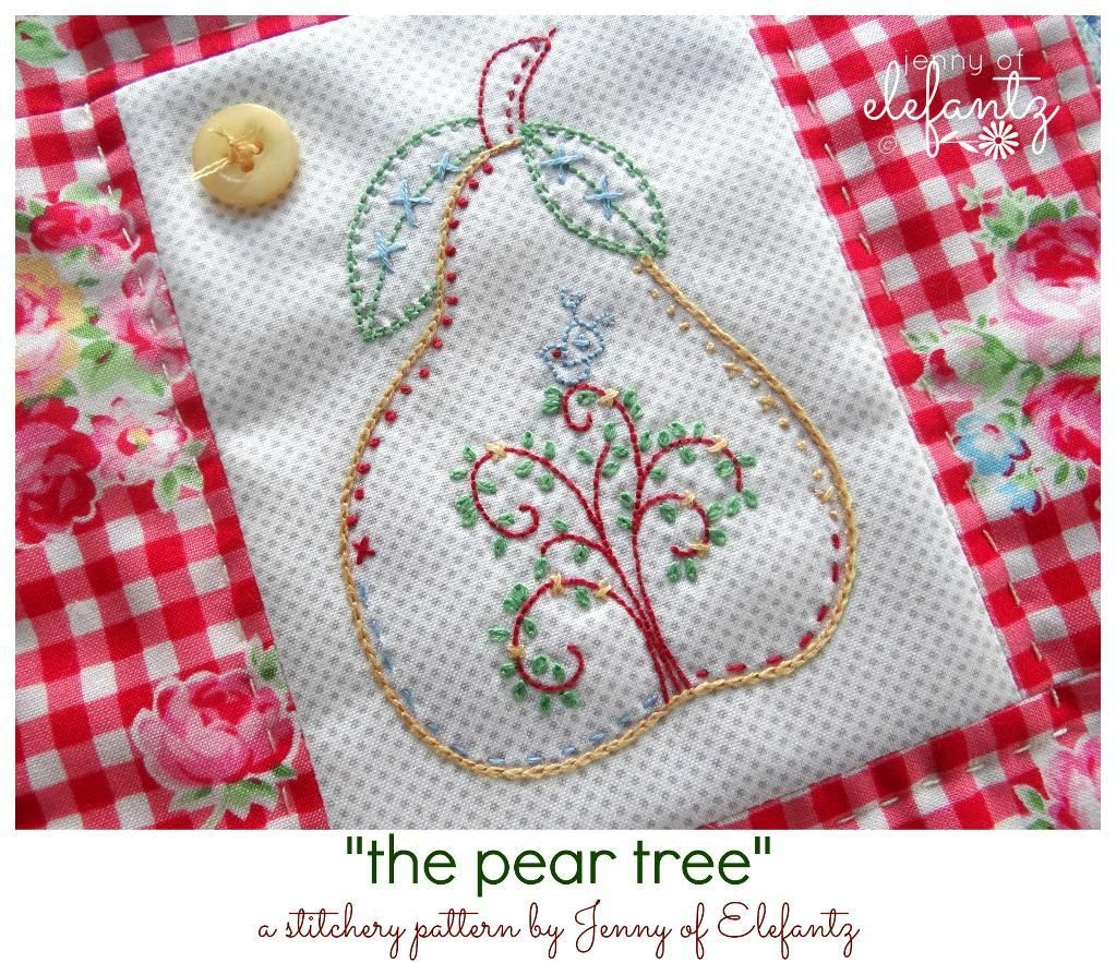 Looking for your next project youre going to love pear tree name embroidery pear tree stitchery bankloansurffo Choice Image