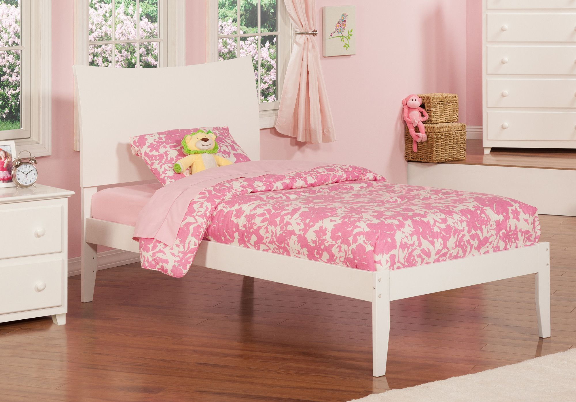 Soho Extra Long Twin Sleigh Bed