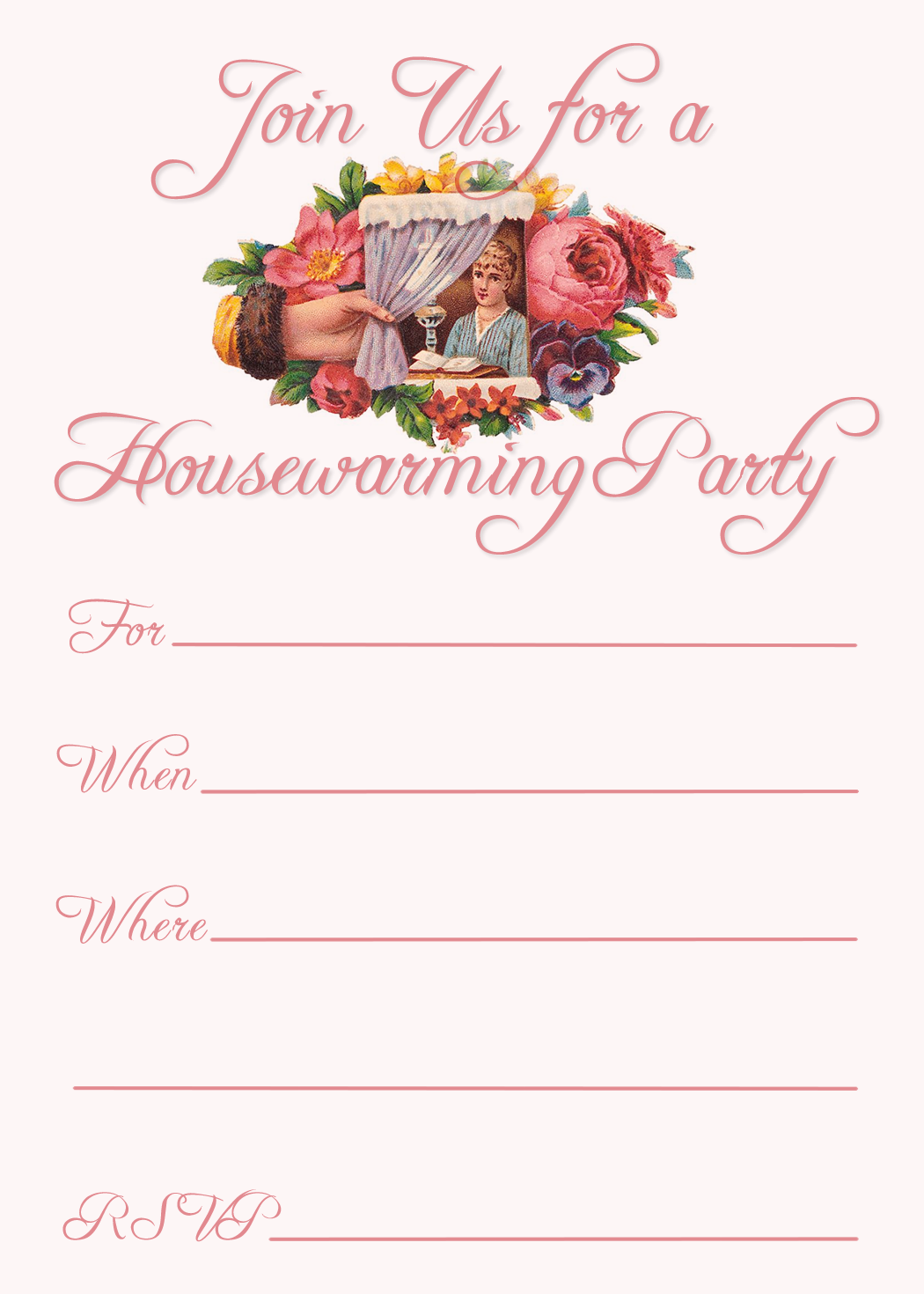 Free Printable Housewarming Party Invitations | Housewarming party ...