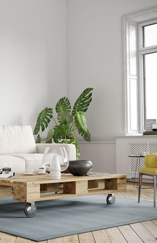 Couchtisch Einfach Selber Bauen Alle Mobel Create By Obi Couchtisch Palette Palettentisch Wohnzimmer Diy Couchtisch
