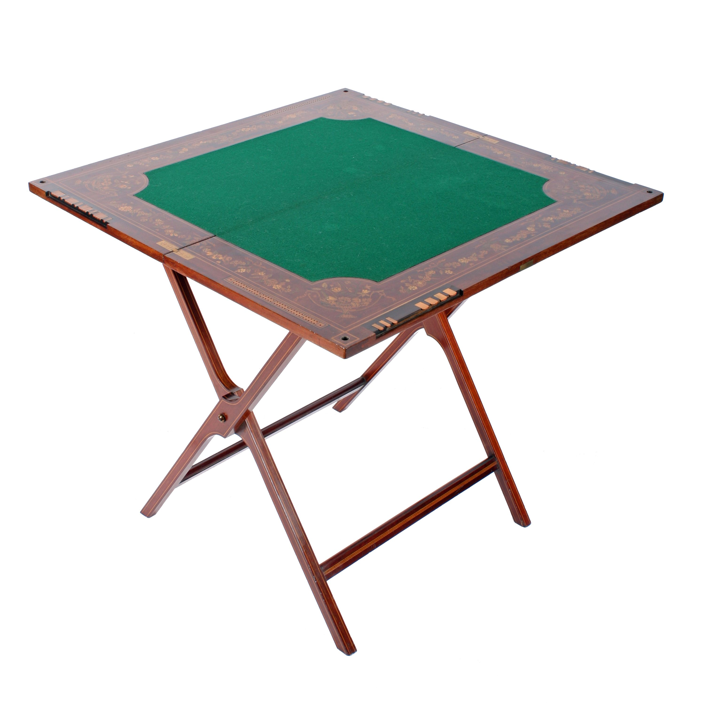 Victorian Folding Card Table Antique Table Table Cards Table Games