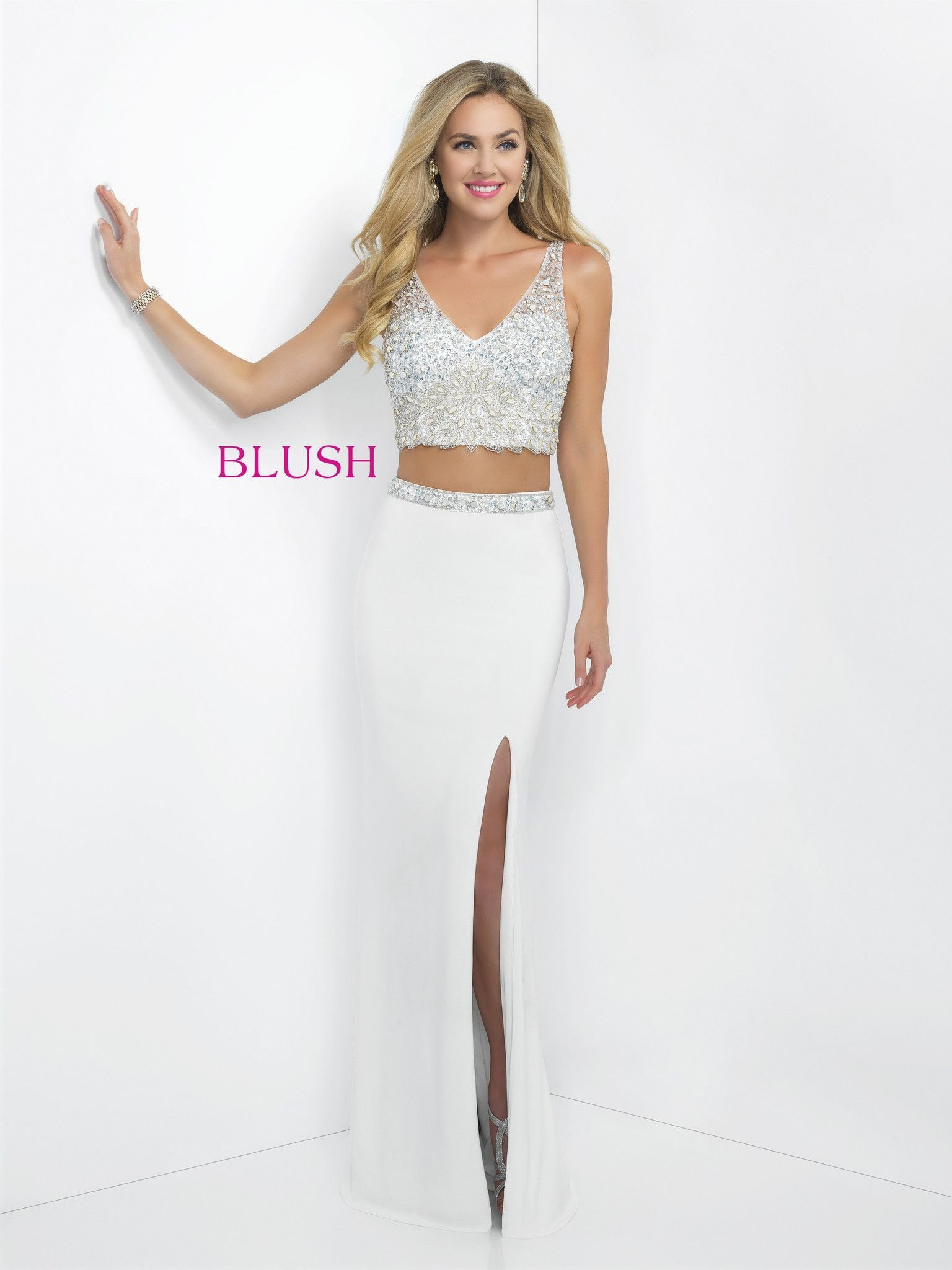 Blush prom off white style pinterest blush prom prom