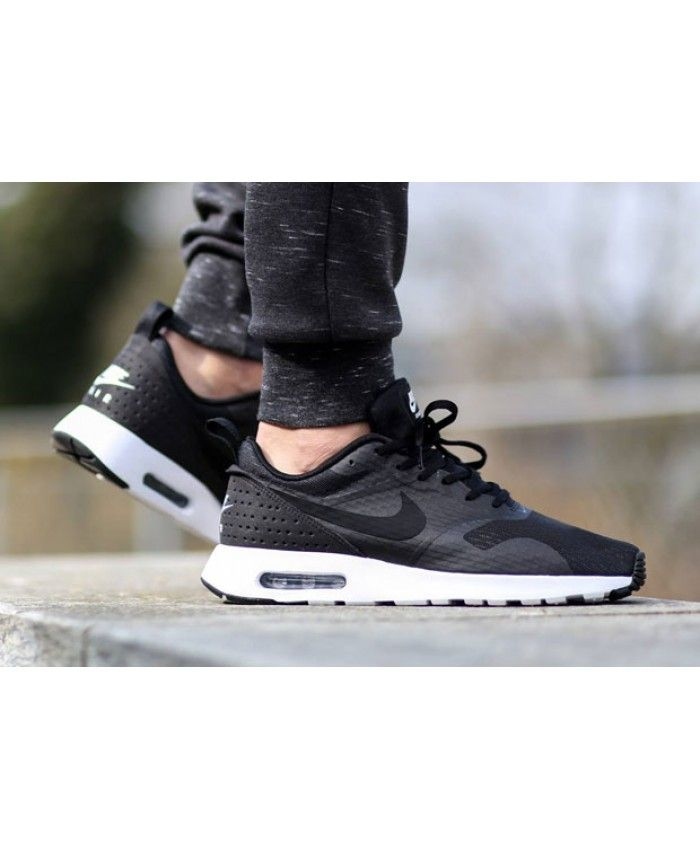 best authentic cb4ce 64ccf Nike Air Max Tavas Black White Trainers Very cool, very personalized style  shoes, the