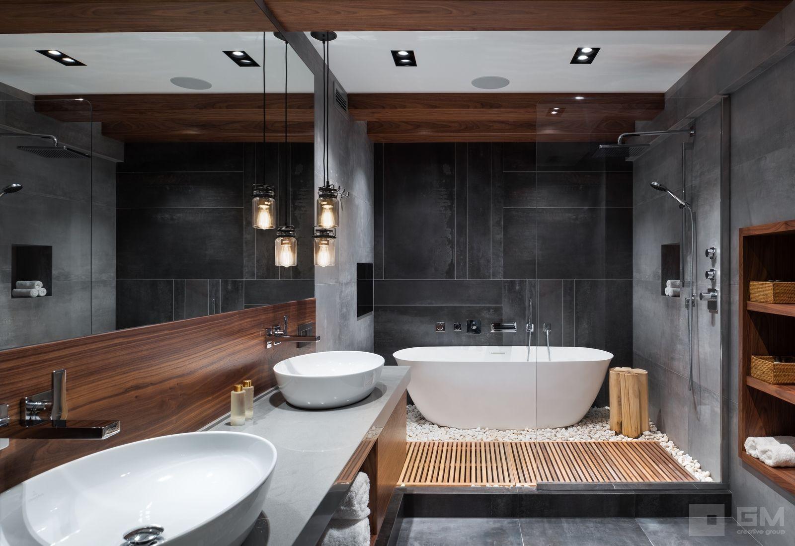 Дизайн двухуровневой квартиры в стиле лофт без ими