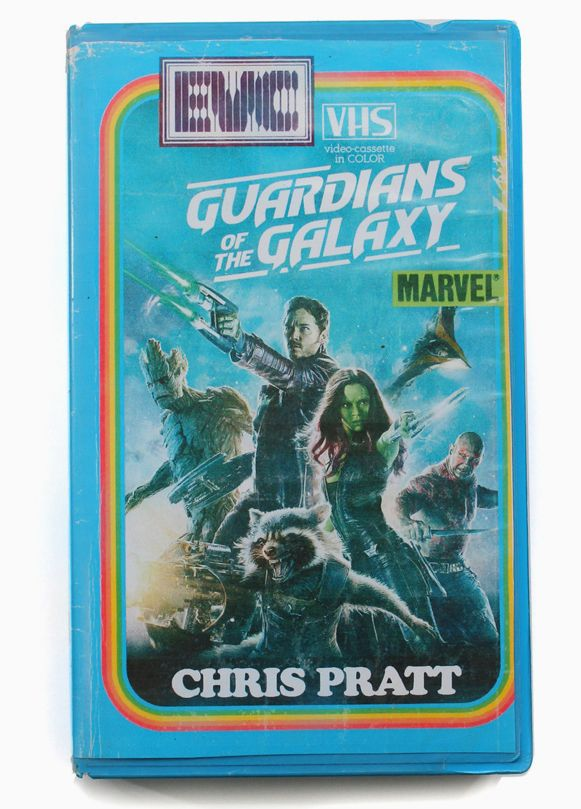 Guardians Of The Galaxy Vhs Cover By Julien Knez Fake Retro Art Vhs Guardians Of The Galaxy New Movies