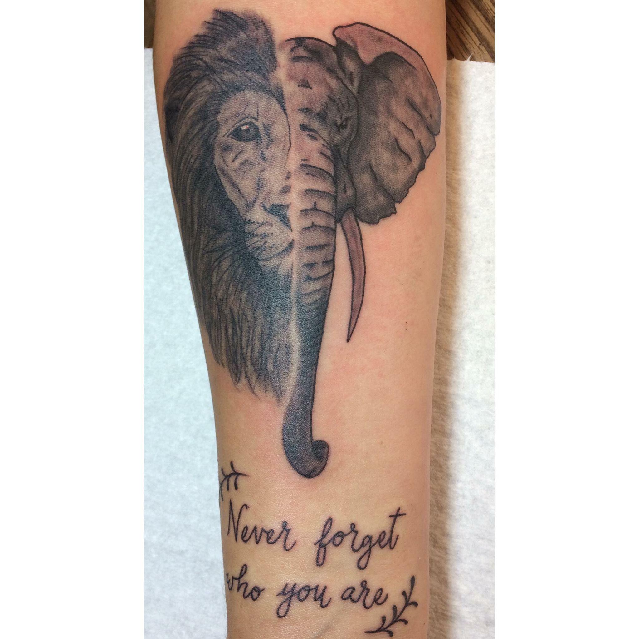 Tattoo the vegan world traveller vegan tattoo elephant lion tattoo the vegan world traveller vegan tattoo elephant lion be brave be kind tattoo ideaspiercings pinterest tattoo elephant vegan tattoo and buycottarizona Gallery