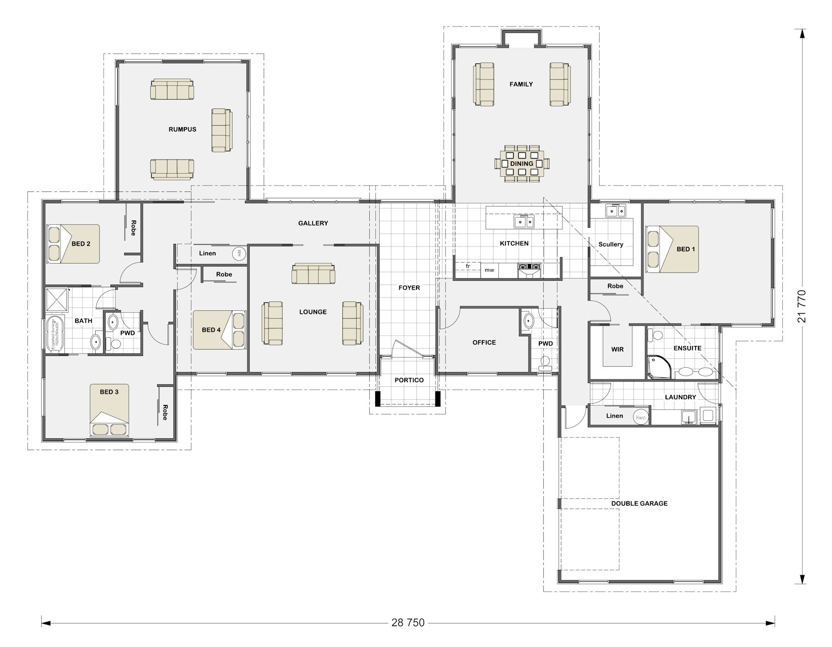 House designs floor plans new zealand house plans and for Contemporary house designs nz