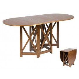 Mesa comedor plegable. Ideal para espacios reducidos. | Luna ...