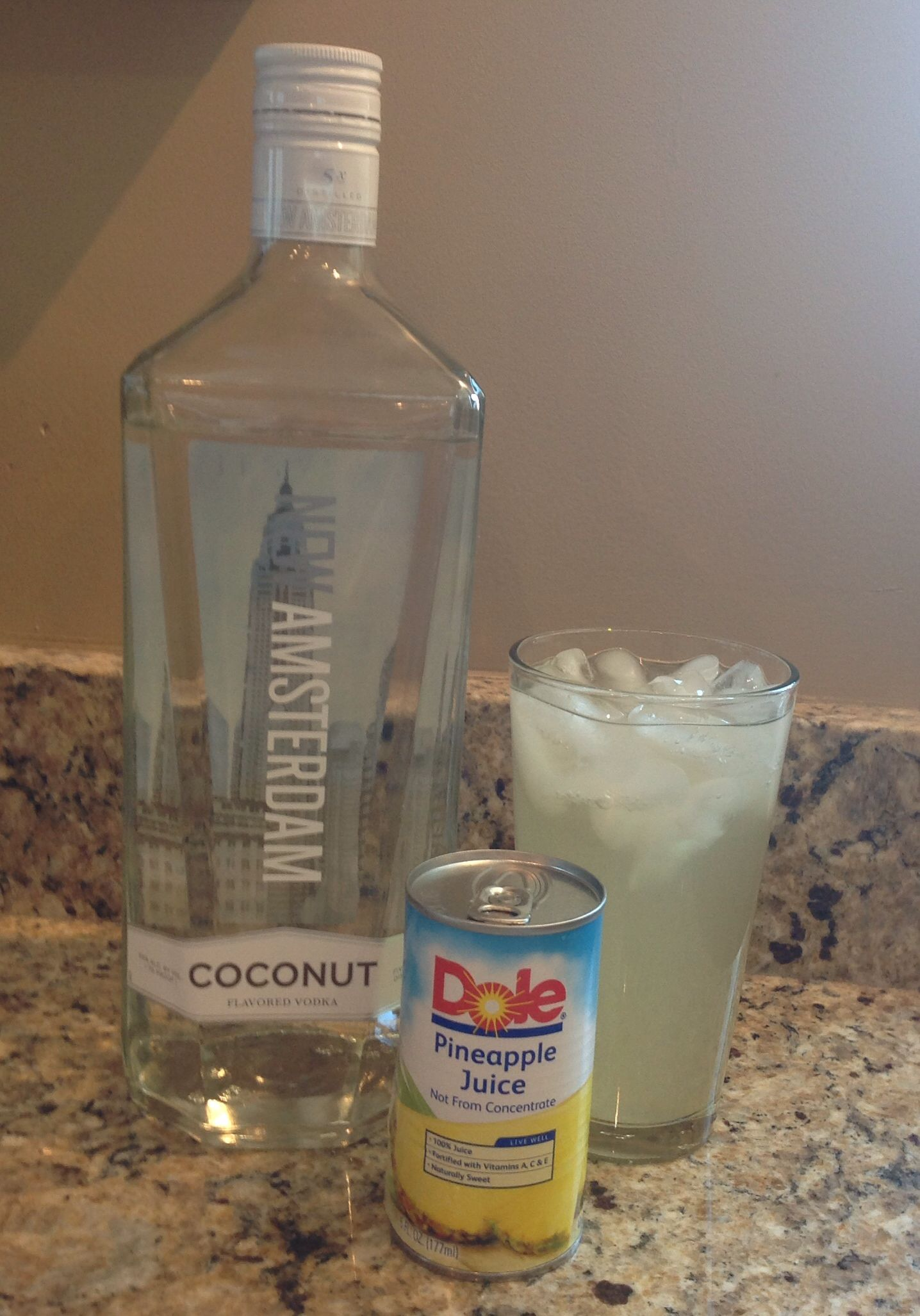 My Favorite Summer Cocktail New Amsterdam Coconut Vodka With