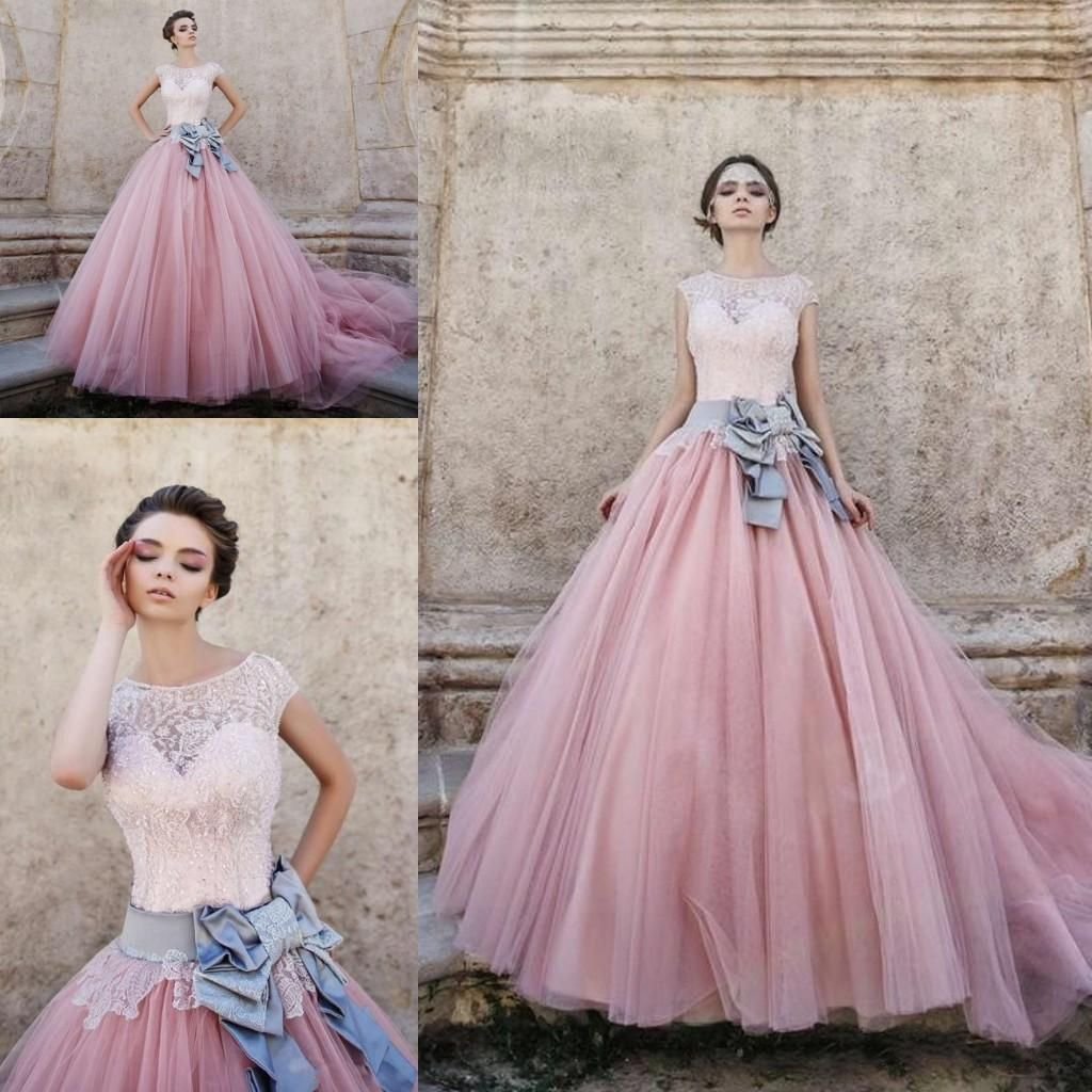 2019 Cinderella Ball Gown Prom Dresses Sweetheart Cap