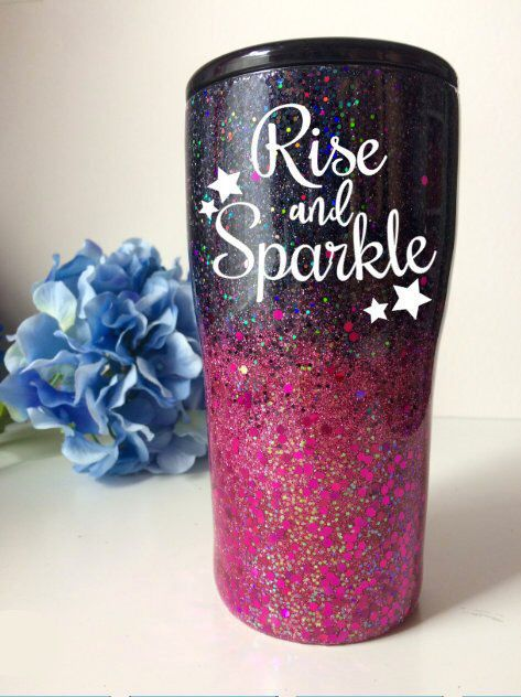 Glitter Tumbler Choose Your Color Glitter Tumbler Yeti