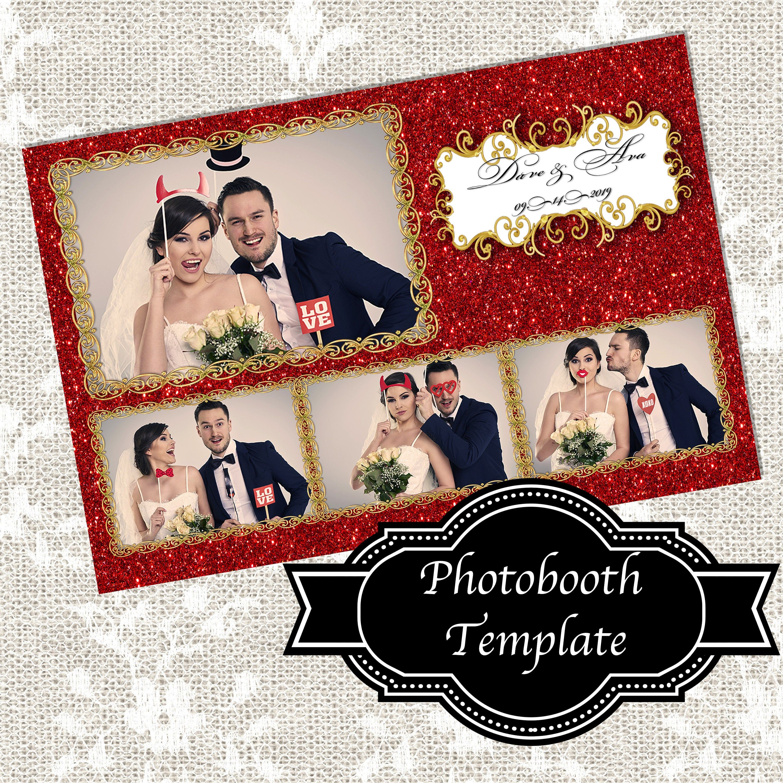 "Gold Sparkle Glitter /& Miroir 4/"" X 6/"" photo cadre photo"