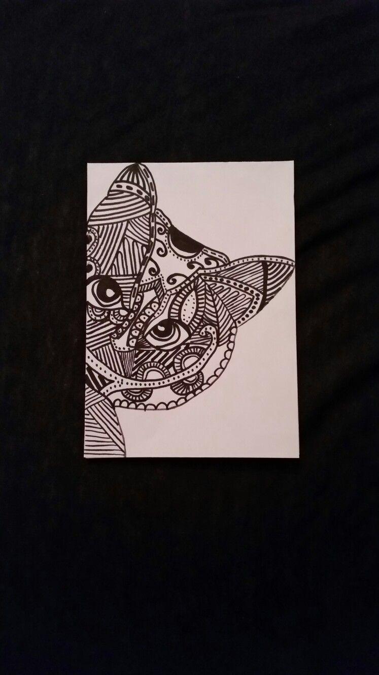 mandala katze | Zeichnungen | Pinterest | Katzen und Zeichnungen