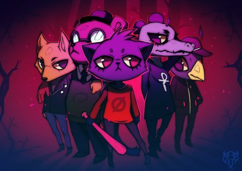 Image Result For Night In The Woods Jacksepticeye Night In The Wood Fan Art Drawings