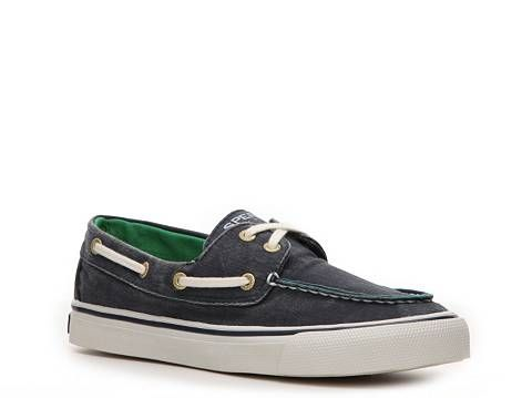 Sperry Biscayne Distressed Canvas Boat