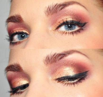 Photo of Hair color rose gold coral eye makeup 36+ ideas #color #copper #copperhair #Cora…
