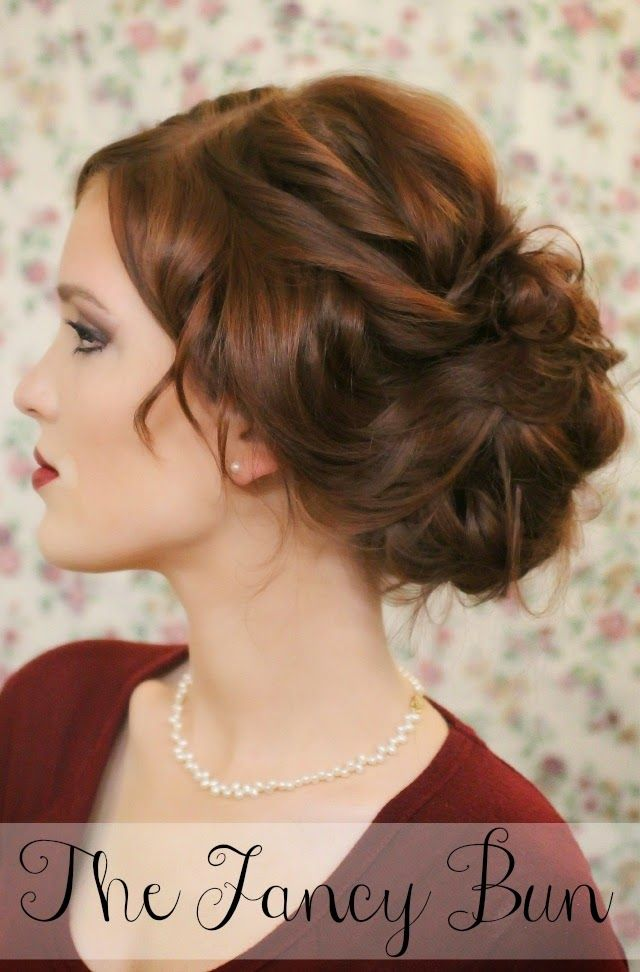 Interview Hairstyles The Fancy Bun  Hairstyles  Pinterest  Fancy Buns Hair Style And